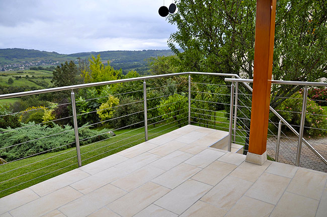 Choisir une balustrade pour sa terrasse