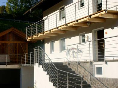rambarde terrasse bois