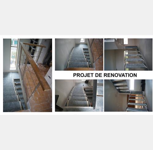 projet renovation garde corps inoxdesign