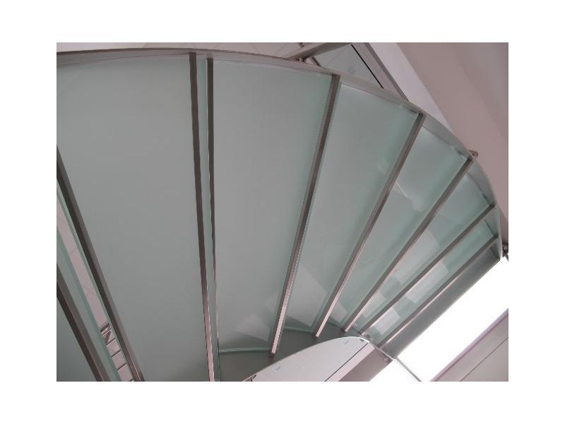 escalier balustrade inox design marches en verre  inoxdesign11
