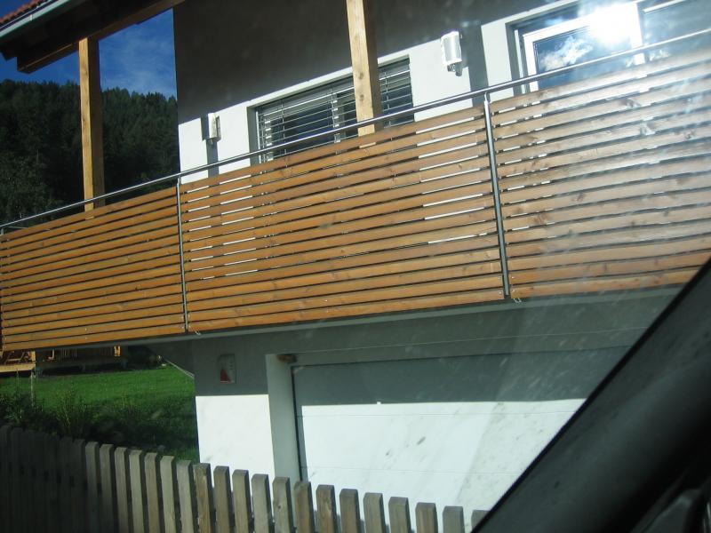 garde corps balcon inoxdesign holz