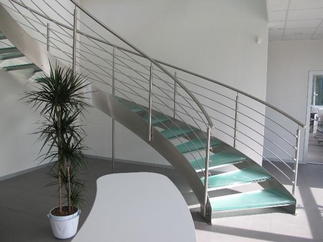garde corps inox designescalier h lico dal balustrade et. Black Bedroom Furniture Sets. Home Design Ideas