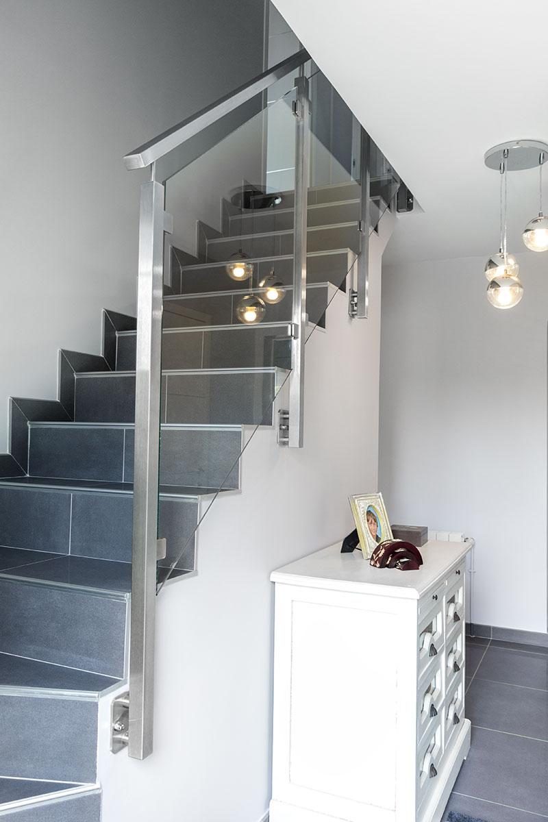 choix rampes et garde corps d escalier inoxdesign. Black Bedroom Furniture Sets. Home Design Ideas