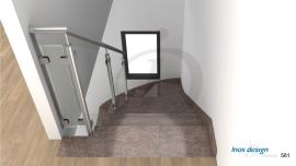 Balustrade Escalier en Verre