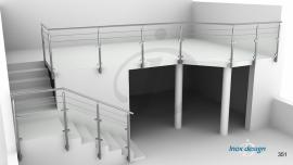 Balustrade Terrasse inox Escalier