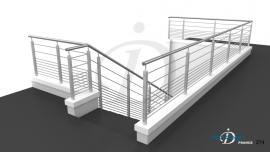 Rampe Terrasse 11 Barres