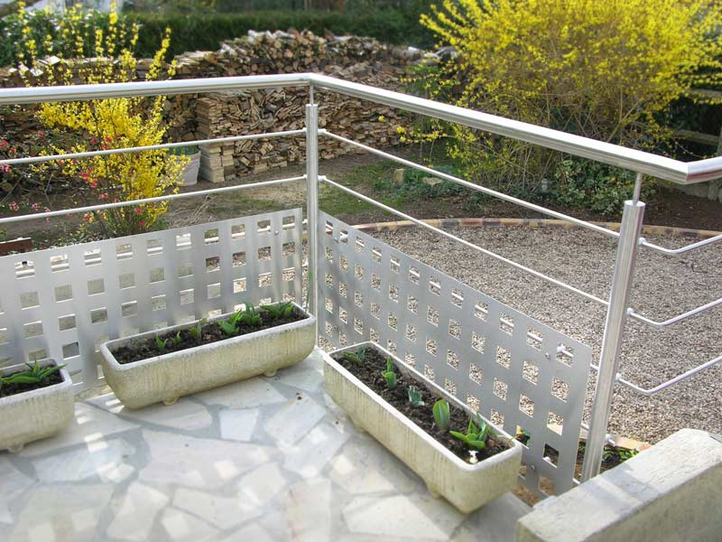 Balustrade terrasse exterieur for Balustrade aluminium exterieur