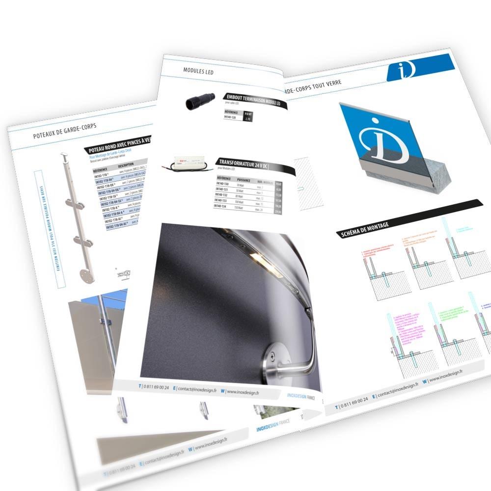 catalogue inoxdesign en téléchargement GRATUIT
