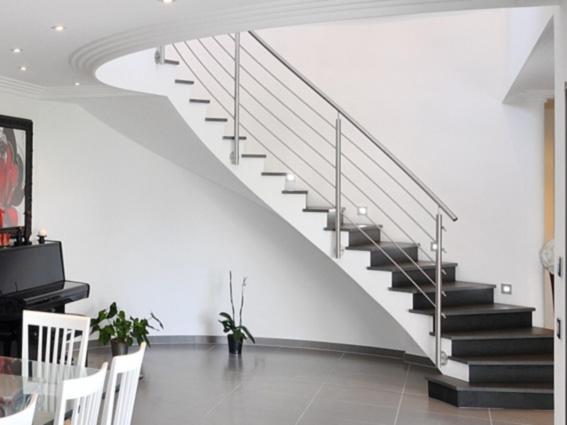 garde-corps escalier sur mesure