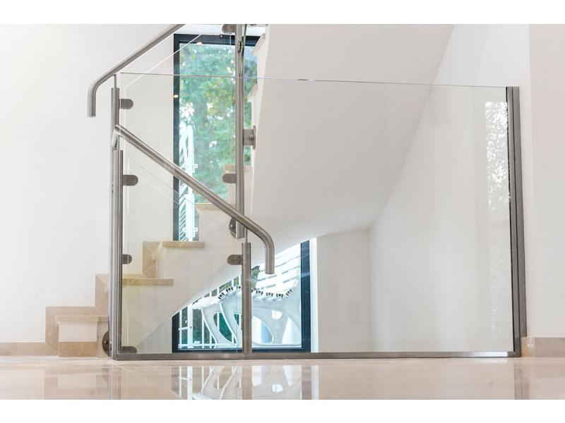 projet de rénovation garde-corps verre escalier dans l'oise 60