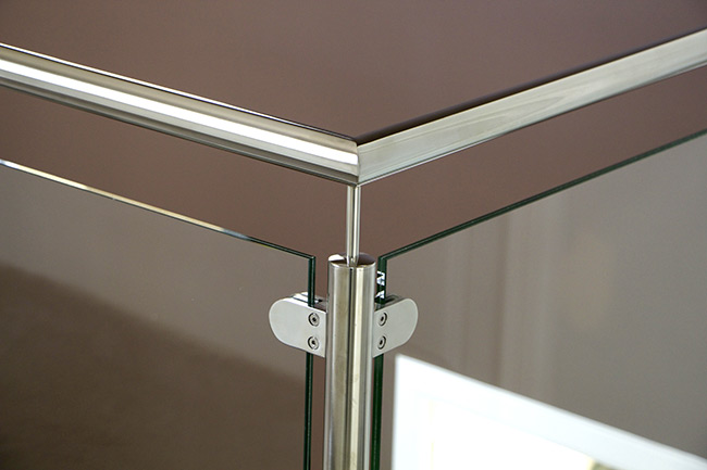 balustrade en verre