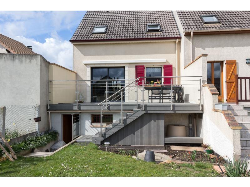 Balustrade terrasse extérieure dans le Val d'Oise 95