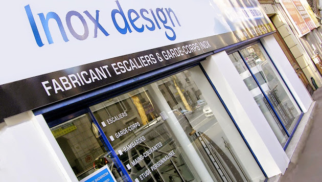 magasin garde-corps inox design
